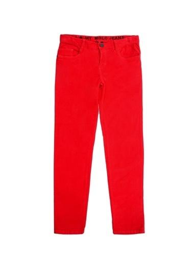 Molo Molo Kırmızı Kız Çocuk Pantolon Kırmızı